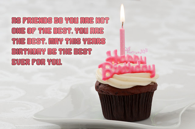 Happy Birthday To You Sms With Birthday Cup Cake Pictures