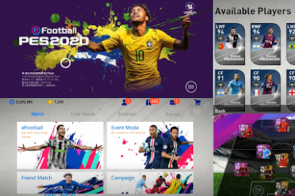 eFootball Pes Mobile 2020 Patch V4.4.0 IOS Cpk File And Android obb File By QT Pes