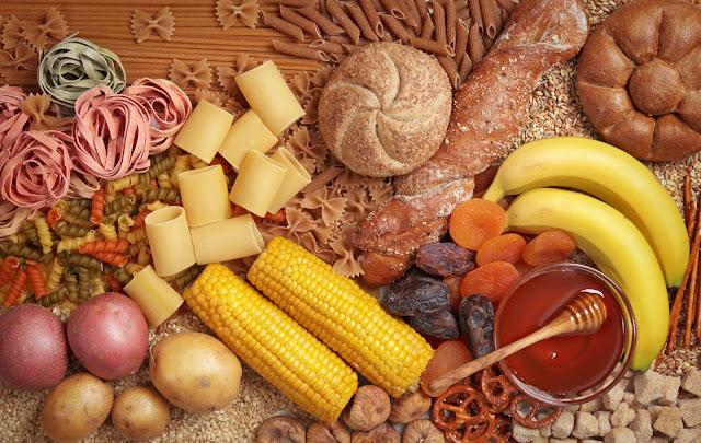 Makan makanan yang berkarbohidrat dan Lemak