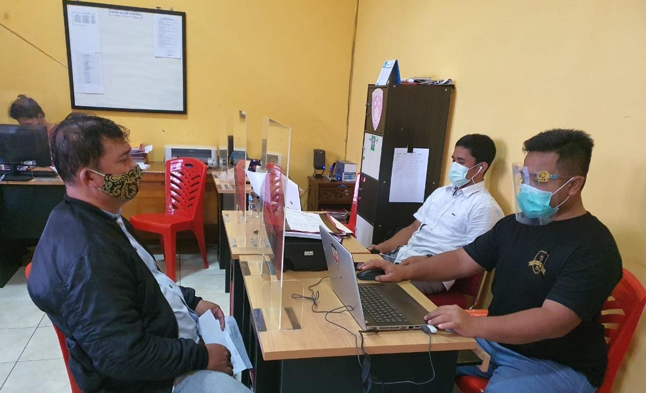 SatReskrim Polresta Banyumas Tangkap Oknum Notaris Disebuah Cafe di Purwokerto Selatan