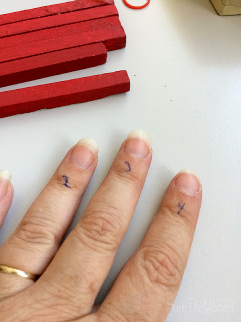 Fingerrechnen nach der PEp Methode