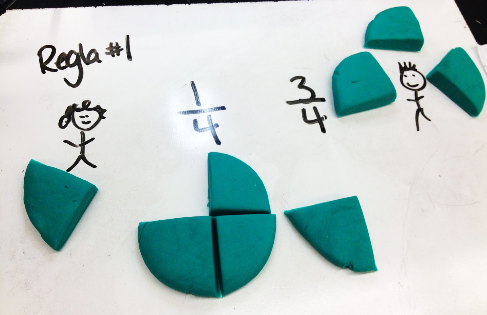 Comparing Fractions With Play Doh