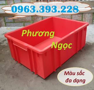 Thùng nhựa đặc B3, sóng nhựa bít, thùng nhựa đựng linh kiện, hộp nhựa công nghiệ E060d353d93d3f63662c