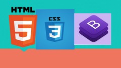 Learn basics of web design 2020 HTML CSS and Bootstrap 4 /5