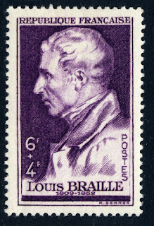 France 1948 Louis Braille