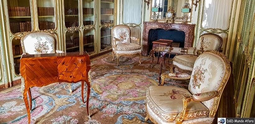 Uma das várias salas do Château de Versalhes