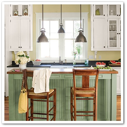 beadboard kitchen island white table and chairs to or not town country living another with what s love