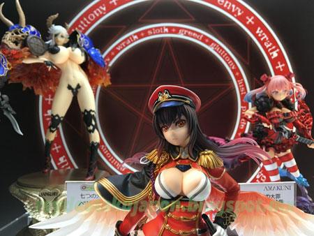Mega Hobby Show Spring 2017 Sin Nanatsu no Taizai (The Seven Deadly Sins) y Nanatsu no Bitoku (The Seven Heavenly Virtues) de Hobby Japan