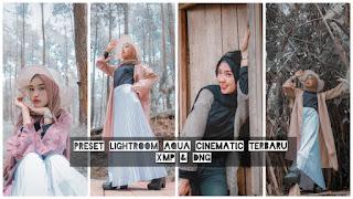 Preset Lightroom Aqua Cinematic Terbaru XMP & DNG
