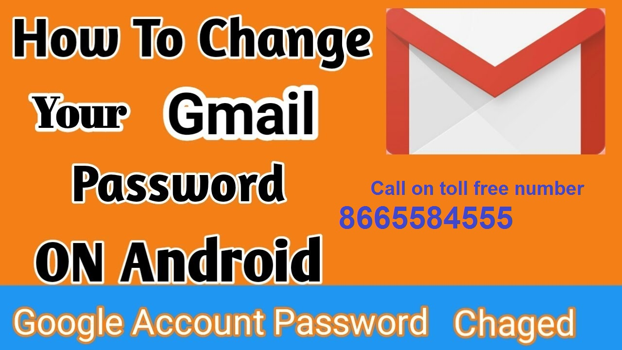 How To Change/Reset Gmail Account Password On Mobile - quonto over