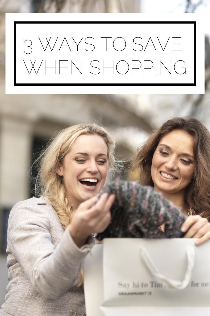 Click to read now or pin to save for later! Want to save money when you shop? Here are 3 tips to help you do just that