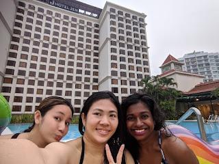 Jen Tanglin pool