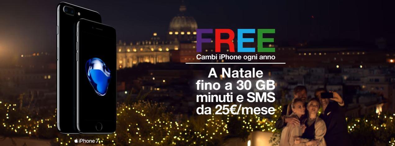Canzone Tre 3 Italia pubblicità offerta Natale iPhone 7 FREE - Musica spot Dicembre 2016