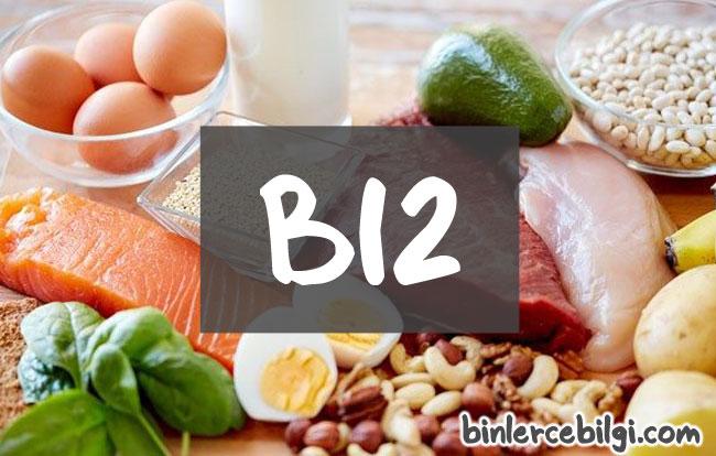 B12 vitamini eksikliği nedir? belirtileri nelerdir? tedavisi nasıl olur? B12 hangi besinlerde var? hangi yiyeceklerde bulunur?