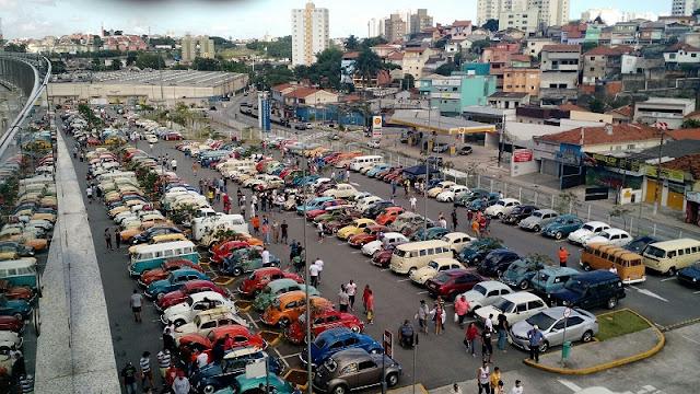 Dia Nacional do Fusca será comemorado com evento no São Bernardo Plaza