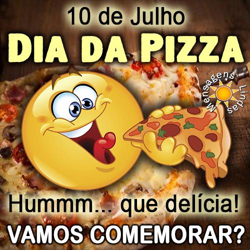 Dia da Pizza é 10 de Julho