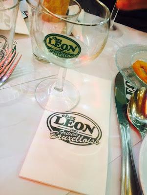 Chez Leon 1893 menu enfant brasserie moule frite