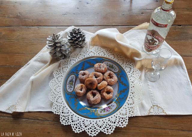 Rosquillas con anís en grano