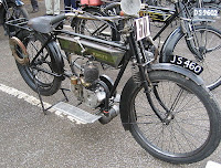 2-stroke Velocette motorcycle (Wikimedia Commons)