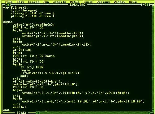 bahasa pemrograman pascal