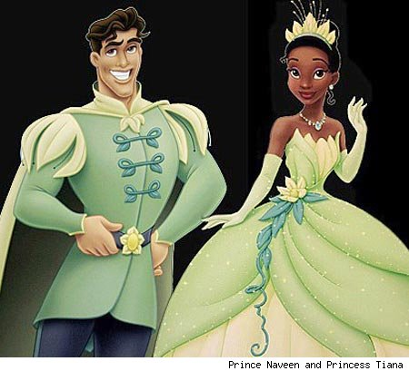 Prince Naveen Tiana The Princess and the Frog 2009 animatedfilmreviews.blogspot.comn