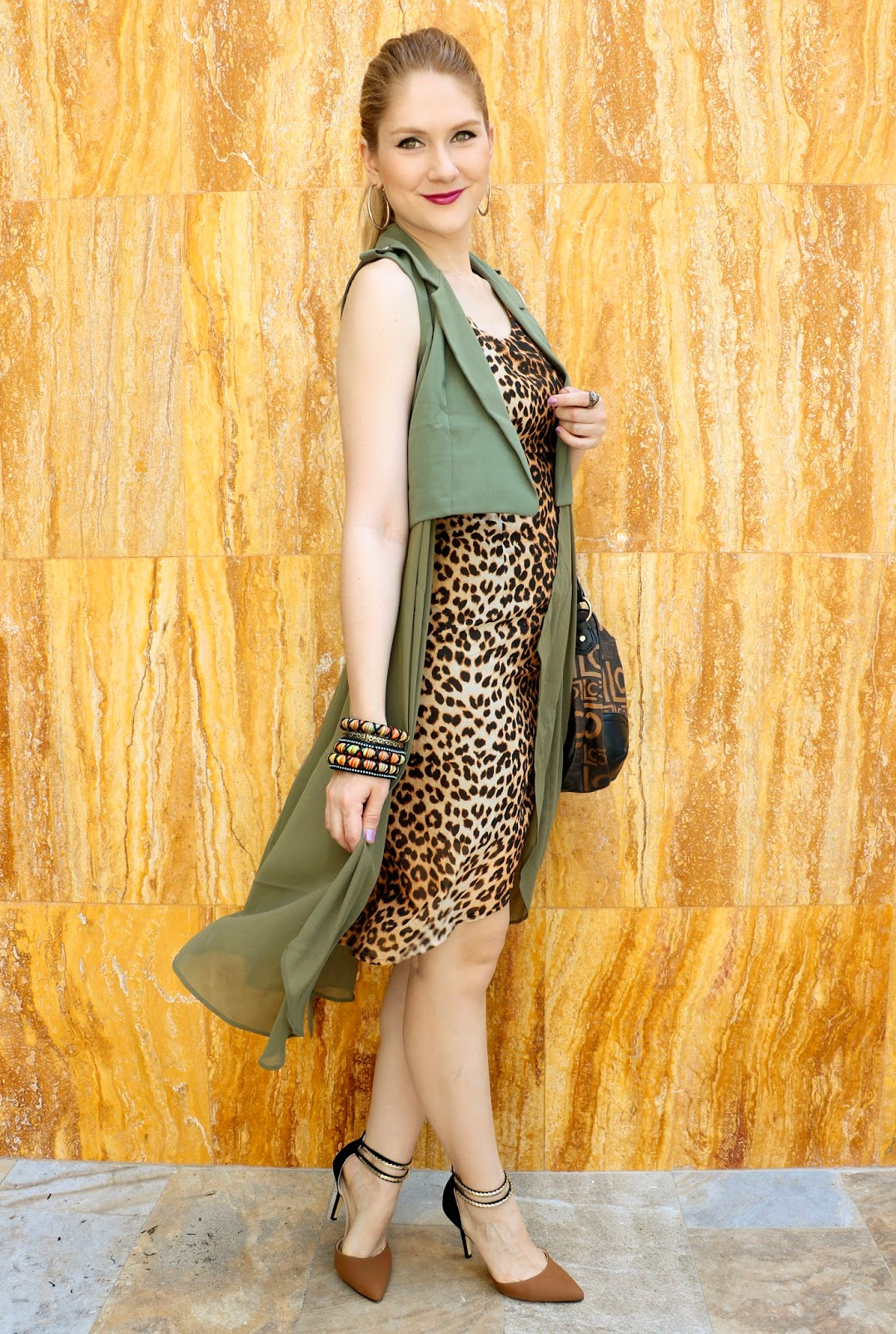 Loving this Leopard Dress combo!