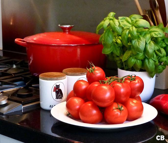 Mijn Italiaanse stoofvlees staat te pruttelen!