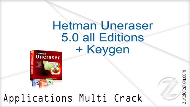 Hetman Uneraser 5.0 all Editions + Keygen