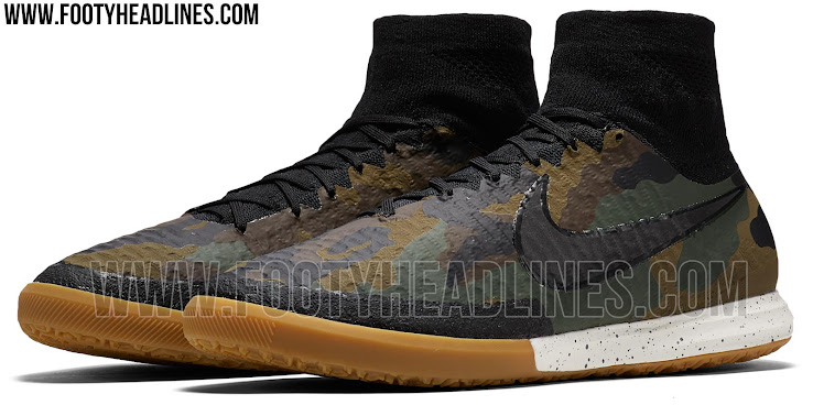 The new Nike MagistaX Proximo Camo soccer shoes are expected to be launched  together with the rest of the pack on April 7 in the Nike Football app.