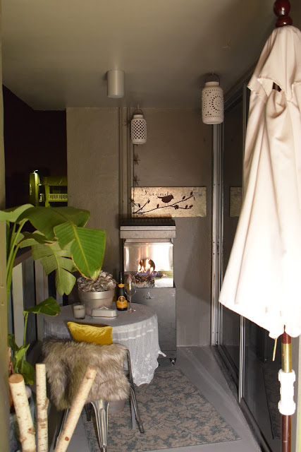 Outdoor furniture, centerpieces, Outdoor Gas Fireplaces, Fire pits,  By: JoFer Interiors