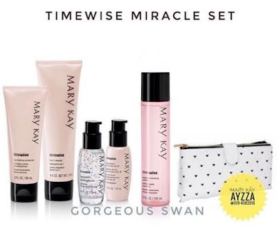 Marykay timewise miracle cleanser set anti penuaan awek muda