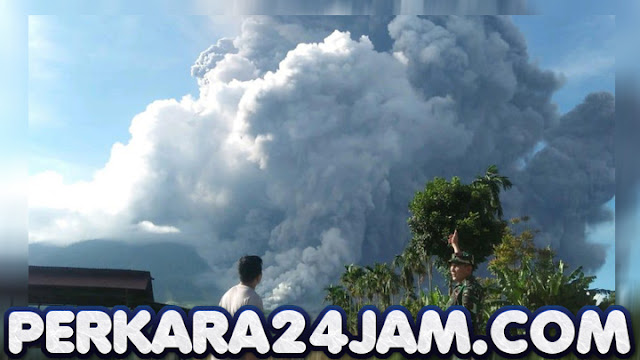 Kronologi Detik Detik 3 Kali Erupsi Gunung Sinabung