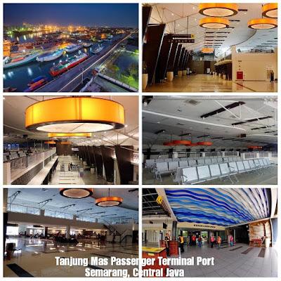 Revitalization program and modernization of passenger ports throughout Indonesia