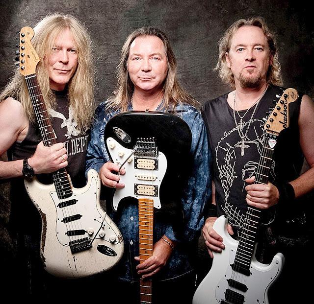 Adrian Smith não queria voltar em 1999 e achava maluquice o Iron Maiden com três guitarras