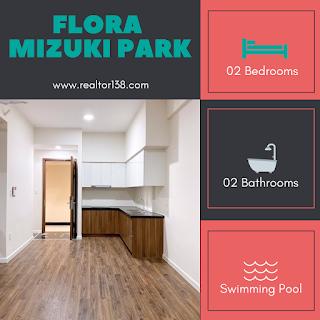 cho thuê căn hộ flora mizuki park 02 phòng ngủ