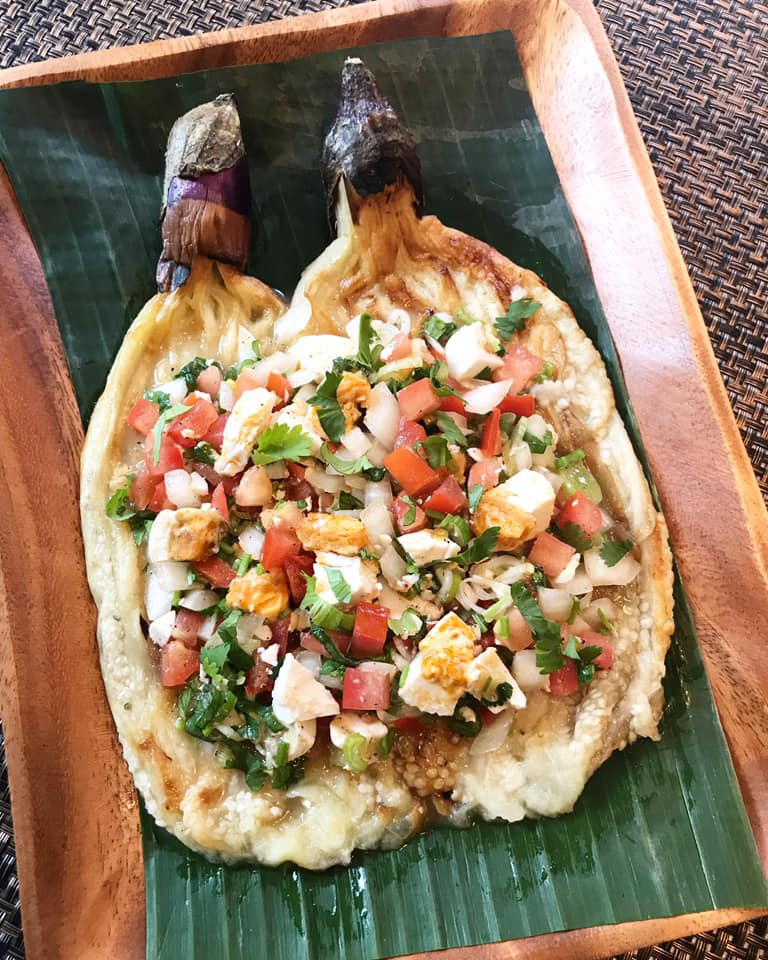 Casa Baluarte Filipino Recipes: Ensaladang Talong (Filipino Eggplant