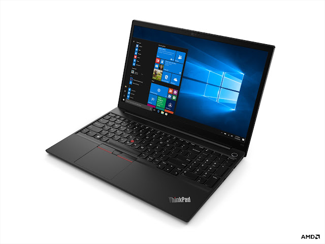 Portáteis ThinkPad da Lenovo equipados com AMD Ryzen™ 4000 Series vão estar disponíveis brevemente