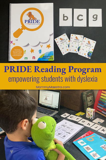 PRIDE Reading Program for children with dyslexia