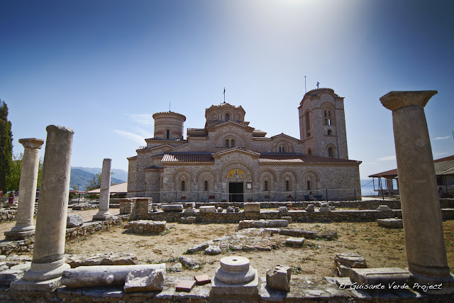 Monasterio de San Clemente, Ohrid - Macedonia por El Guisante Verde Project