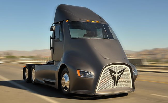 Tinuku Thor Trucks's AT-One prepares to compete Tesla Semi