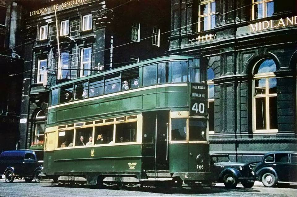 40 Vintage Color Photographs Of Liverpool Uk In The 1950s