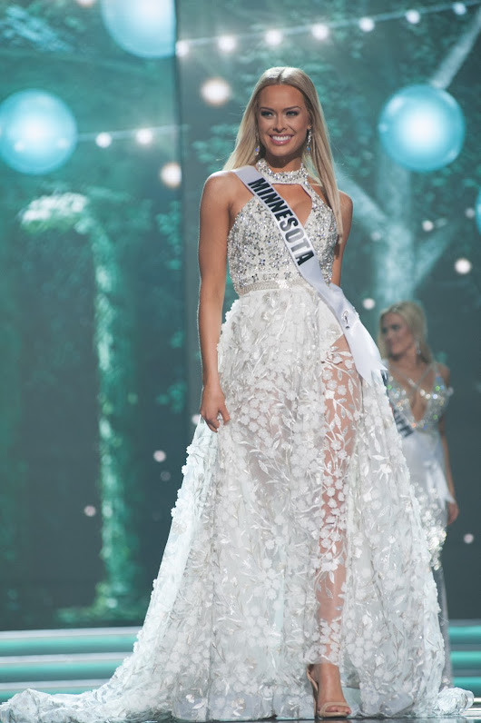 MISS USA 2017 (Preliminary Competition/Evening Gown): Miss Minnesota USA - Meridith Gould