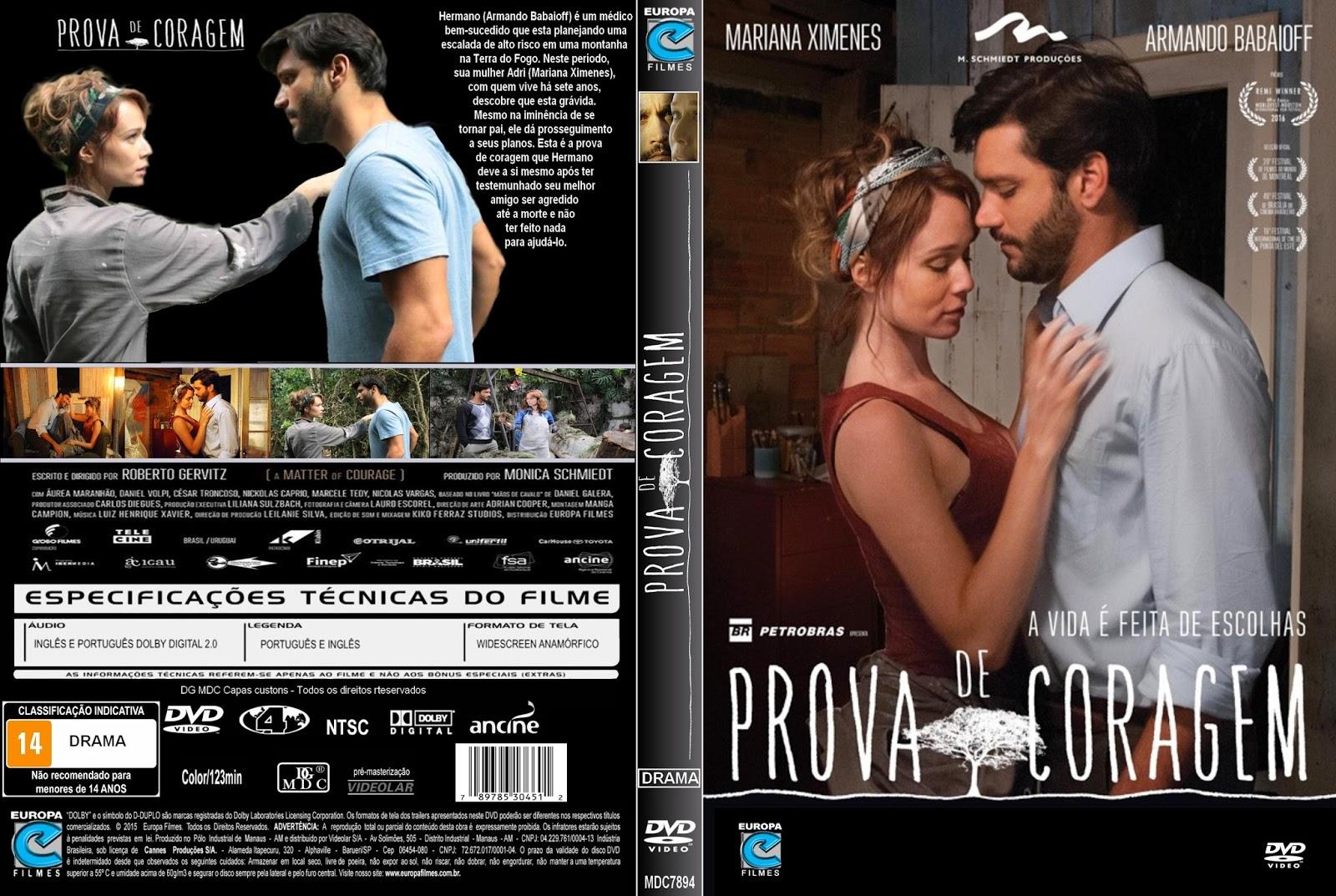 Prova de Coragem DVD-R Prova de Coragem DVD-R Prova 2BDe 2BCoragem