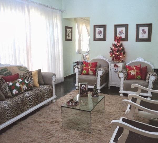 Decoração de Natal da minha casa