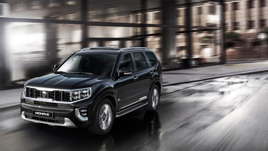 기아자동차, 상품성 강화 대형 SUV '2021모하비' 출시