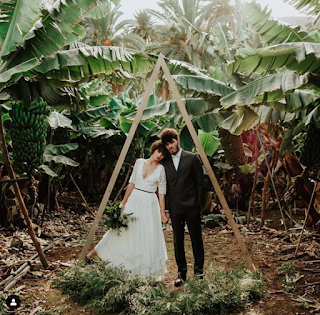 El Yunque Rain Forest tropical wedding