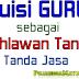 Puisi Pahlawan Tanda Jasa