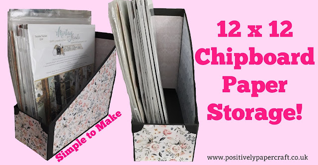 chipboard handmade paper storage unit,