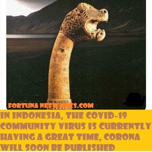 Di Indonesia, Community Virus #Covid19 Sedang Gembira Ria Akan Segera Terbit Buku Corona