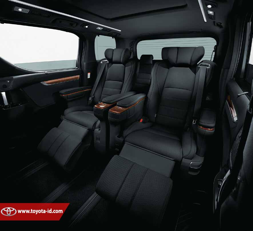 All New Alphard 3.5 Q Grand Avanza G 2015 Spesifikasi Toyota 3 5 Astra Indonesia Khusus Untuk Tipe Menggunakan Interior Berwarna Hitam Dengan Kombinasi Motif Kayu Coklat Pada Bagian Dasbord Unit
